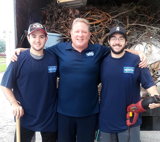 Christopher Rowland and The Your Clean Out Guys Team
